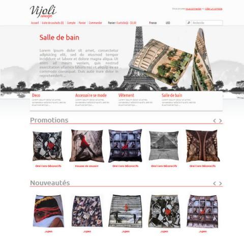 Vijoli - бутикови стоки за бита